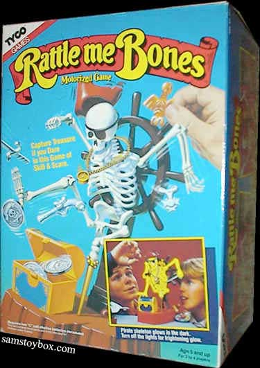 Rattle Me Bones Game by Tyco Box
