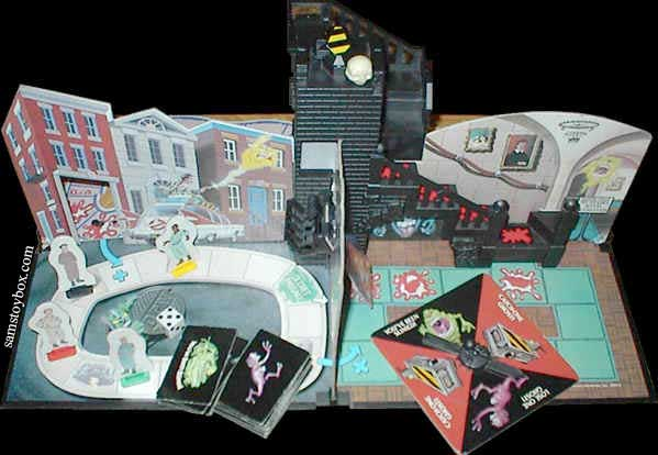 The Real Ghostbusters Game rooms 1 and 2
