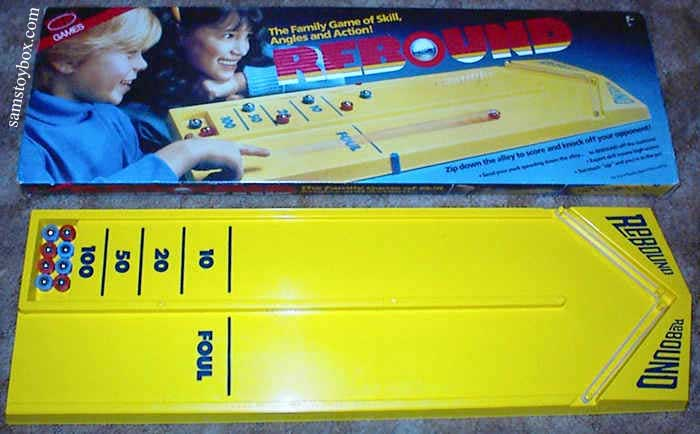 Rebound Game with its Box