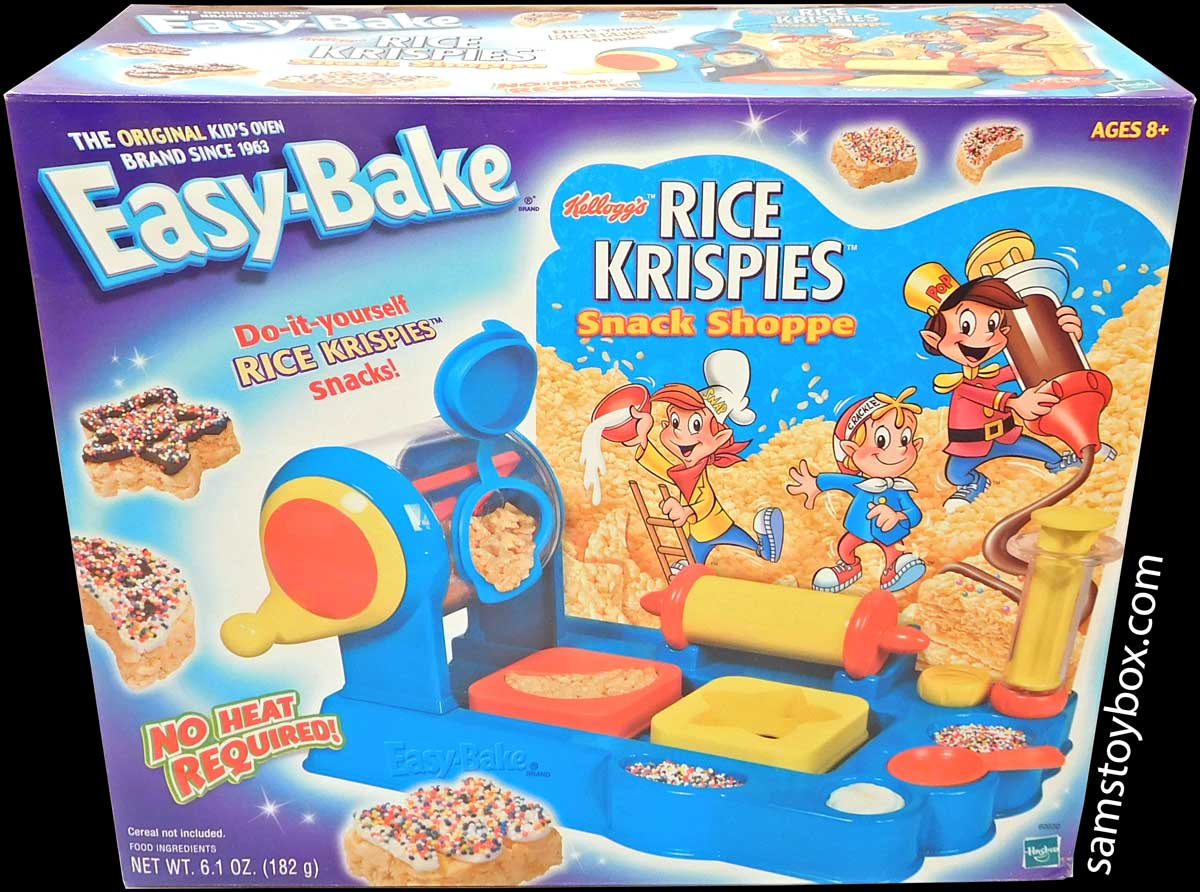 Easy-Bake Rice Krispies Treat Shoppe Box Front
