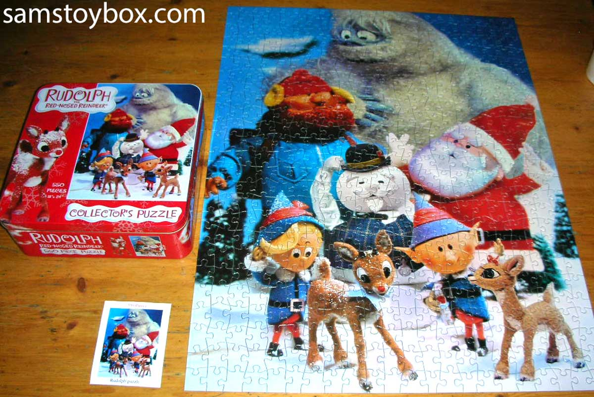 Rudolph Collector's Puzzle Box