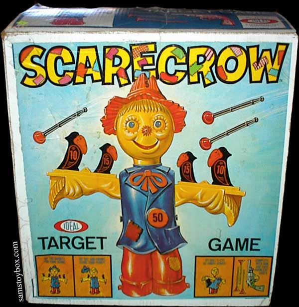 Scarecrow Target Game Box by Ideal