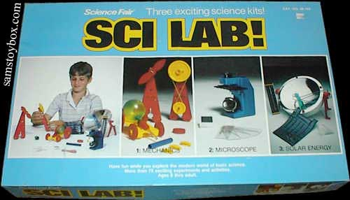 Science Fair Science Set box