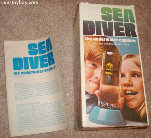 Sea Diver Game by Parker Brothers