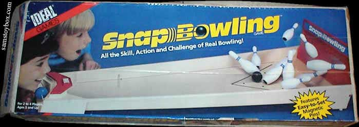 Snap Bowling Game Box