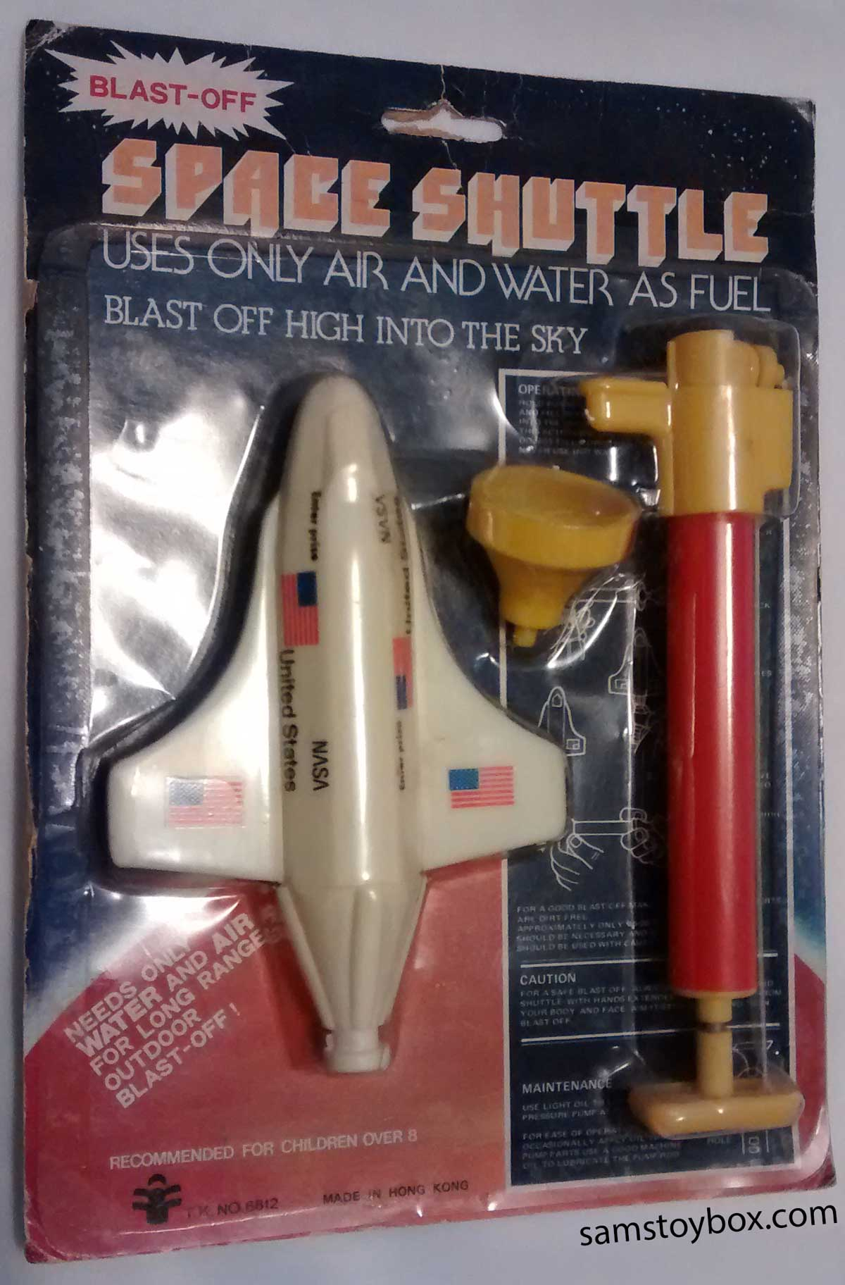 Space Shuttle Water Rocket