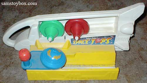 Fisher Price Space Tops toy