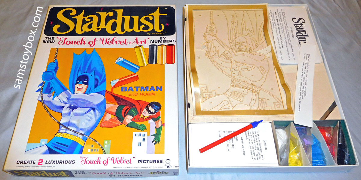 Stardust Touch of Velvet Art Batman Set by Hasbro