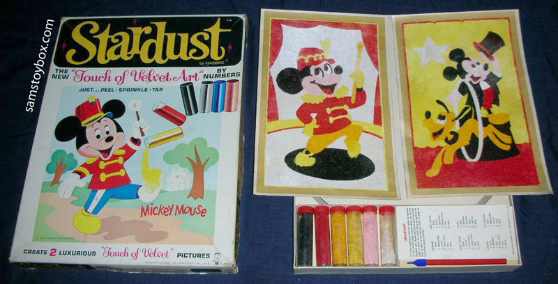 Stardust Touch of Velvet Art Mickey Mouse Set by Hasbro