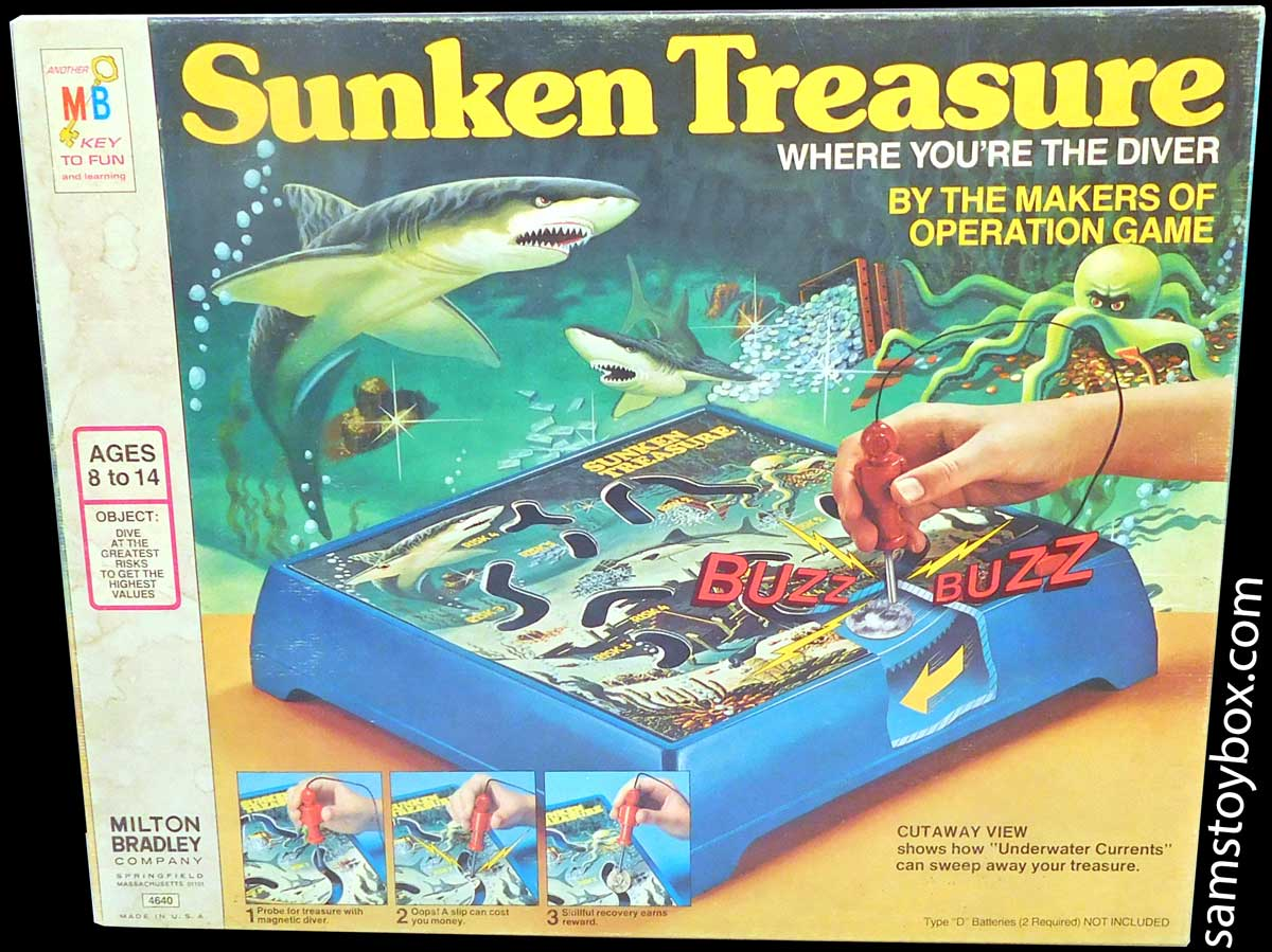 Sunken Treasure Game Box Lid