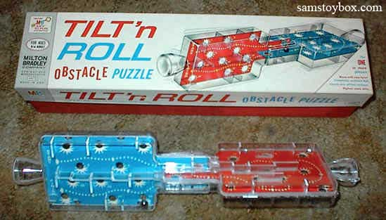 Tilt 'n Roll Game by Milton Bradley