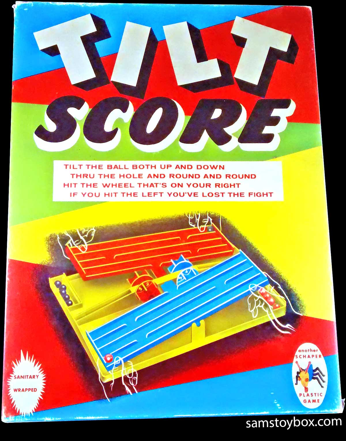 Tilt Score Game by Schaper Box