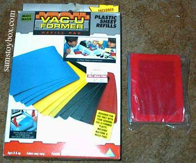 Refill sheets for Toymax Vac-U-Former