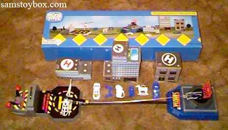 Kool Toyz Chopper Command Helicopter Set