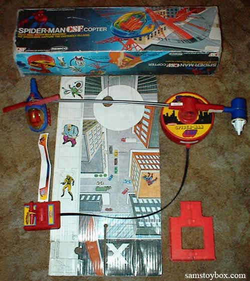 Spider-Man CSF Copter