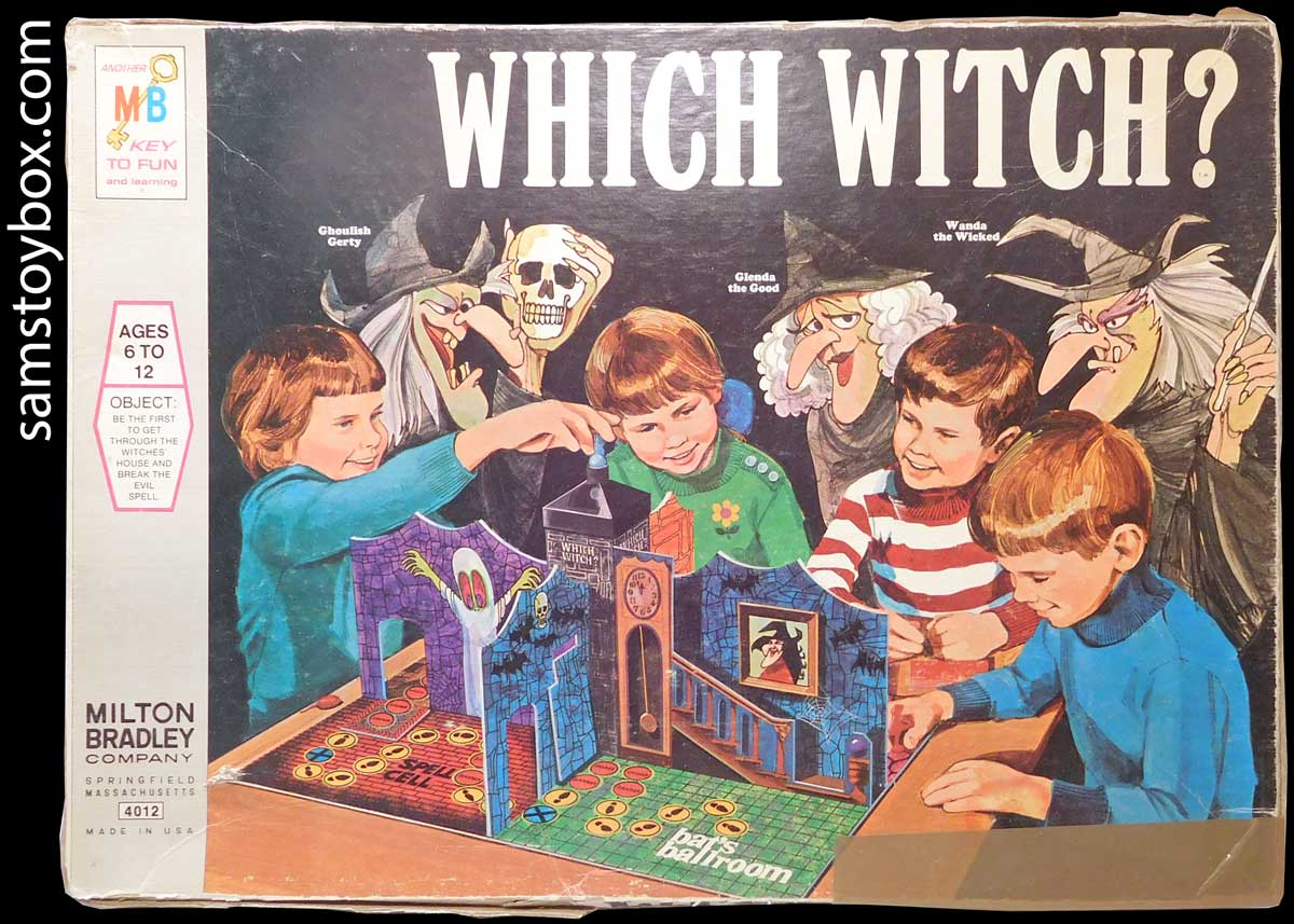 Which Witch Game by Milton Bradley