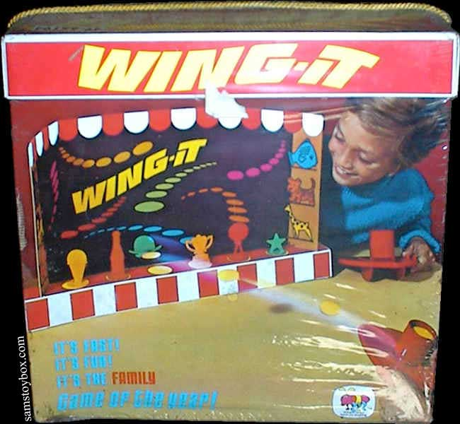 Wing-It Game by Schaper