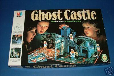 English (UK) version of Ghost Castle Game by Milton Bradley