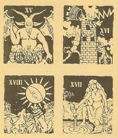 Ka-Bala game Tarot Cards